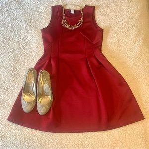 love J A-Line cocktail dress   red   large